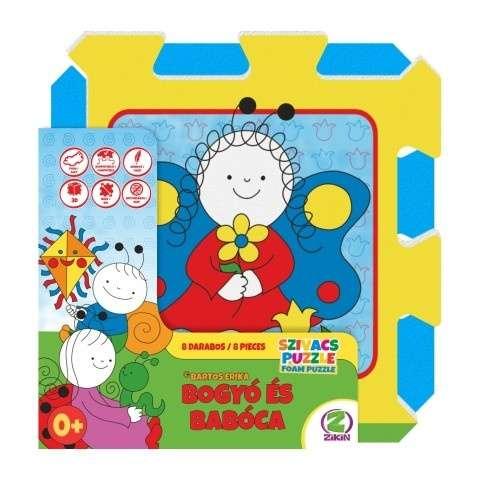 Szivacs puzzle 8db - Bogyó és Babóca