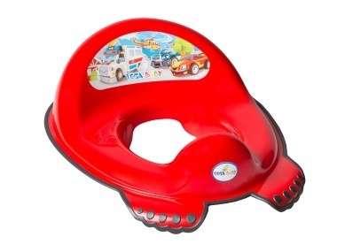 Tega Baby WC szűkítő #piros autó