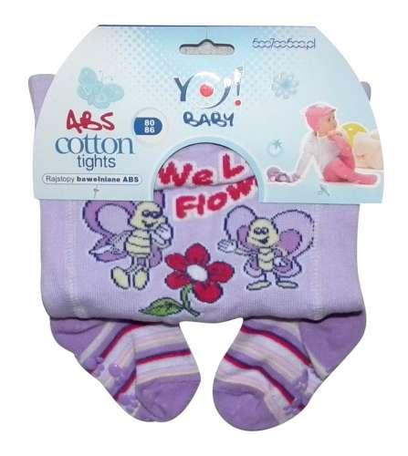 Yo! Baby pamut harisnyanadrág lány (56-62) #nyuszi