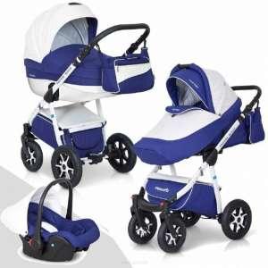 Expander Mondo Ecco 3in1 multifunkciós Babakocsi  kék-fehér 9f24a6b133