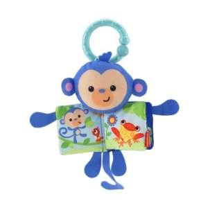 Fisher Price majom pajtás puhakönyvvel 30312003 Fejlesztő játék babáknak