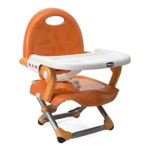 Chicco Pocket Snack székmagasító Etetőszék #narancssárga 30324084 Etetőszék
