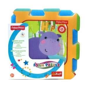 Trefl Szivacs puzzle 8db - Dzsungel 30311990 Fischer Price