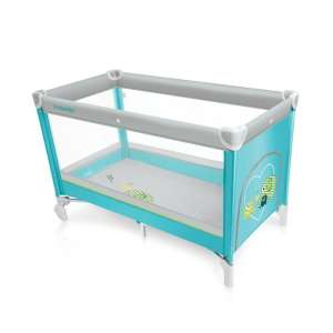Baby Design simple fix Utazóágy #türkiz 30306778