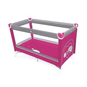 Baby Design simple fix Utazóágy #rózsaszín 30310384