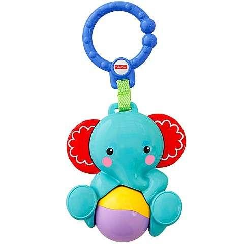 Fisher Price Felakasztható csörgő játék - Elefánt #kék
