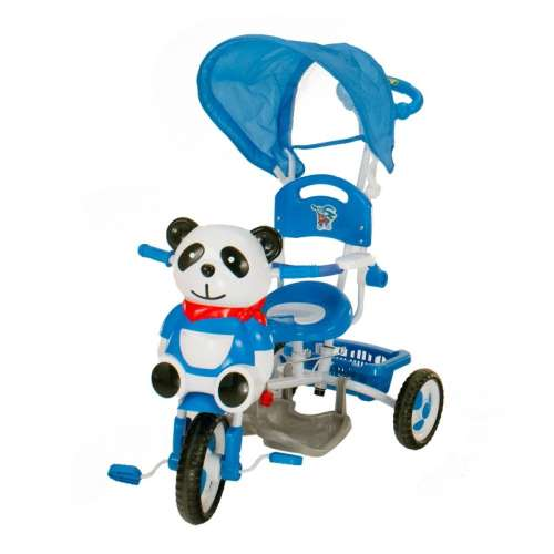Szülőkormányos Tricikli #kék