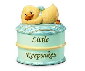 Russberrie Diddy Duck emlék dobozka #kék 30307315 Játéktároló