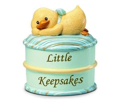Russberrie Diddy Duck emlék dobozka #kék