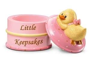 Russberrie Diddy Duck emlék dobozka #rózsaszín 30310427 Játéktároló