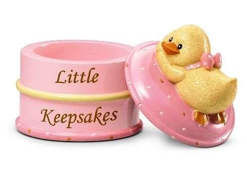 Russberrie Diddy Duck emlék dobozka #rózsaszín