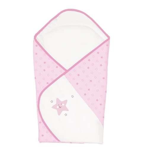 Ceba Baby kókuszpólya #rózsaszín csillagok (hímzett)