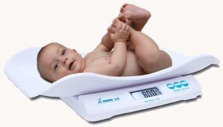 Momert digitális baba -és gyermekmérleg 6475