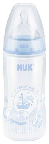 Nuk Baby First Choice Cumisüveg 300ml #kék