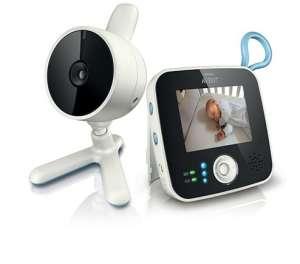 Philips Avent SCD610 DECT digitális videofunkcióval rendelkező Babaőrző készülék 30311736 Bébiőr, Légzésfigyelő