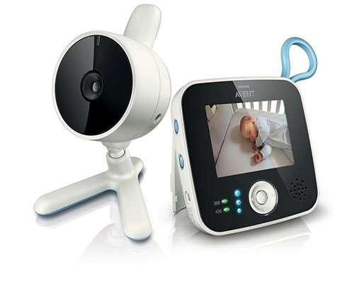 Philips Avent SCD610 DECT digitális videofunkcióval rendelkező babaőrző készülék