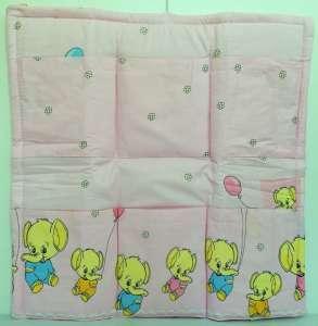 Zsebes tároló #rózsaszín elefant 30308476