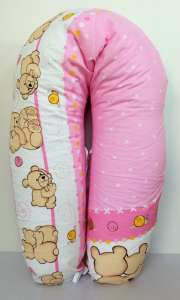 Baba-Mama többfunkciós Párna #rózsaszín - ölelő-macik 30312049
