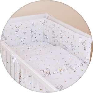 Ceba Baby 5 részes babaágynemű #fehér nyuszi Álom 30304949