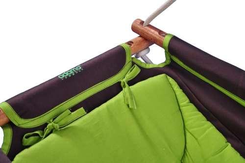 Adamo hinta (keresztrúddal) #barna-zöld