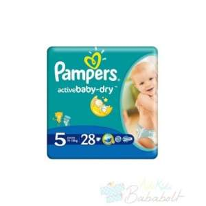 Pampers Active Baby-Dry Pelenka 5 Junior (28db) 30478819