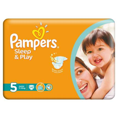 Pampers Sleep & Play Pelenka 5 Junior (42db)