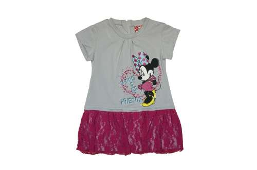 ea7fa37bb4 Disney Minnie gyerek rövid ujjú ruha (méret: 80-116) | Pepita.hu