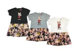 Disney Minnie virágos lányka ruha (méret  86-122). Virág 86e0215871