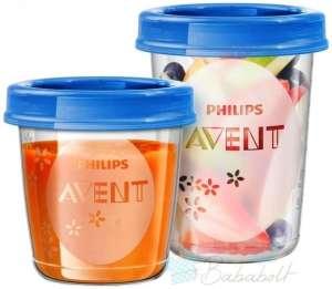Philips Avent VIA Etetőszett   30374262 Étel-Ital tároló