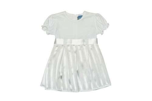 Alkalmi keresztelő baba kislány  fehér ruha (méret  62-98)  767180da2a