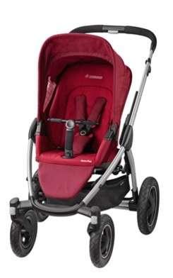 Maxi Cosi Mura4 Plus 4 kerekű sport Babakocsi  piros  d1420664cb