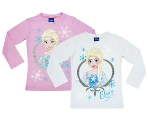 8a2b0953c3 Disney Jégvarázs - Frozen gyerek hosszú ujjú Póló (méret: 98-134) 30483337