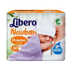 Libero Newborn 1 Koraszülött Pelenka (24db) 30479907 Libero Pelenka