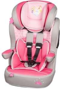 Nania I-Max SP Autósülés 9-36kg - Hercegnők #rózsaszín-szürke 30485104