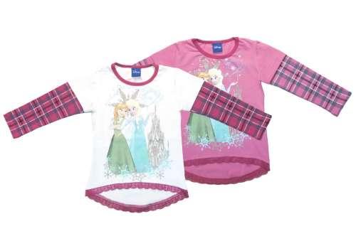 d9186120cf Disney Jégvarázs - Frozen csipkés aljú gyerek Póló (méret: 104-134 ...