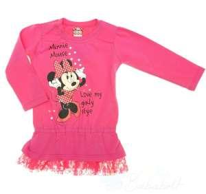 Disney Minnie lányka csipkés aljú Tunika (méret: 92-128) 30489157