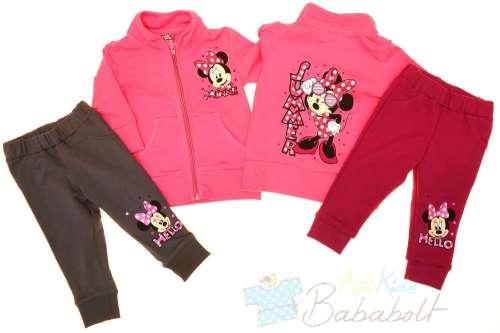 4dc94c35ee Disney Minnie baba gyerek szabadidő együttes (méret: 80-128) | Pepita.hu