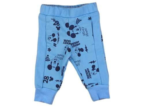 1026773e43 Disney Mickey belül bolyhos baba-gyerek szabadidő nadrág (méret: 62-98)