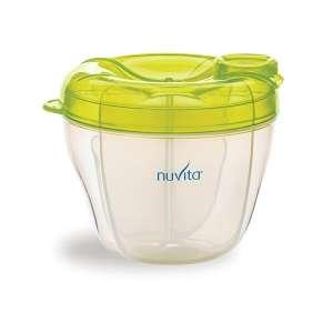 Nuvita tápszertartó #zöld 30489515 Tejgyűjtő kagyló, tejtároló