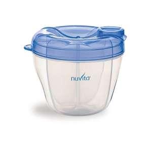 Nuvita tápszertartó #kék 30480676 Tejgyűjtő kagyló, tejtároló