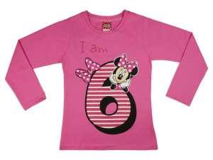 Disney Minnie szülinapos hosszú ujjú Póló (méret: 122) 30488941 Gyerek hosszú ujjú póló