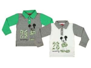 Disney Hosszú ujjú galléros póló - Mickey Mouse (86-116) 30485406