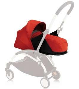 Babyzen YOYO mózeskosár #piros 0hó+ 30483355 Mózeskosar, sportrész babakocsira