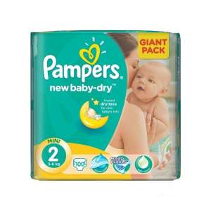 Pampers New Baby-dry Pelenka 2 Mini - Giant Pack (100db) 30487916