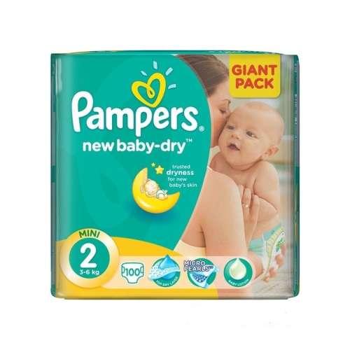 Pampers New Baby-dry Pelenka 2 Mini - Giant Pack (100db)