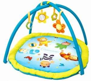 Smoby Cotoons Activity Játszószőnyeg #kék 30375543 Bébitornázó és játszószőnyeg