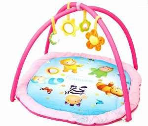 Smoby Cotoons Activity Játszószőnyeg #rózsaszín 30482137 Bébitornázó és játszószőnyeg