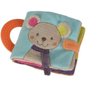 Nicotoy Baby Gary Maci csörgő könyv 30484137 Textil könyv gyerekeknek