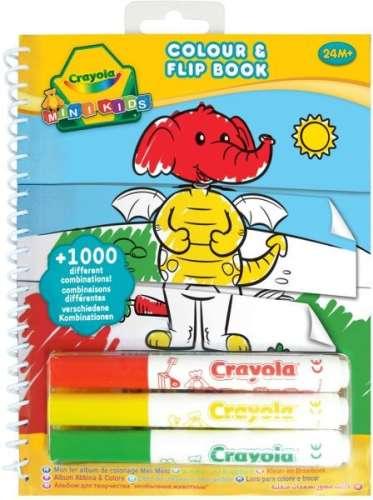 Crayola Mini Kids - Képmixelős kifestőfüzet