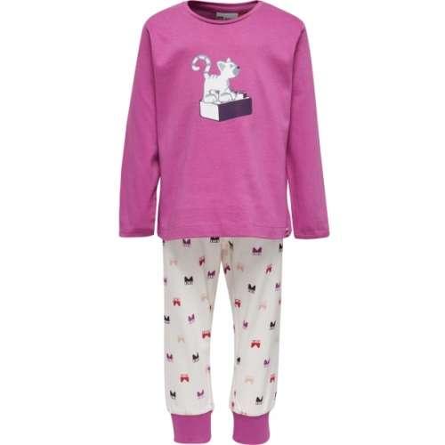 Lány Pizsama - Cica #rózsaszín